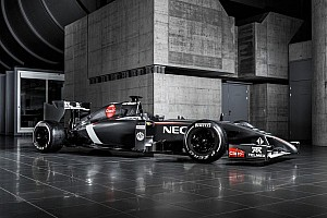 Formula 1 Breaking news Sauber reveals its 2014 challenger - the C33