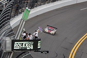 Coyote win in Rolex 24 at Daytona