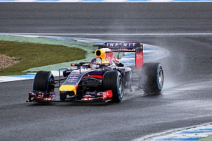 Infiniti Red Bull Racing spend 2nd day at Jerez