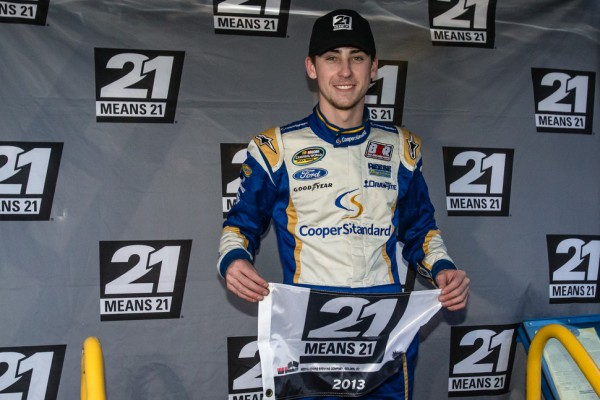 Ryan Blaney to make Sprint Cup start in 2014