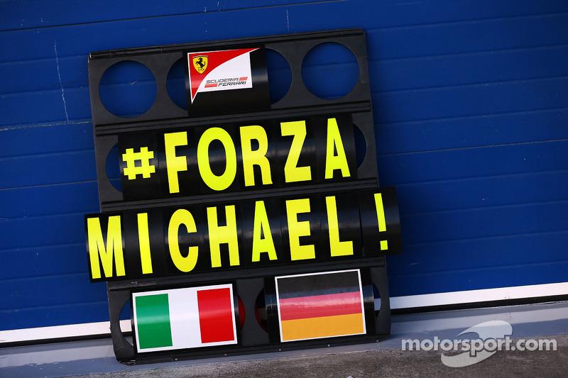 Grenoble doctor confirms Schumacher awakening reports