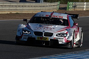 DTM Testing report BMW teams take to the track in Monteblanco