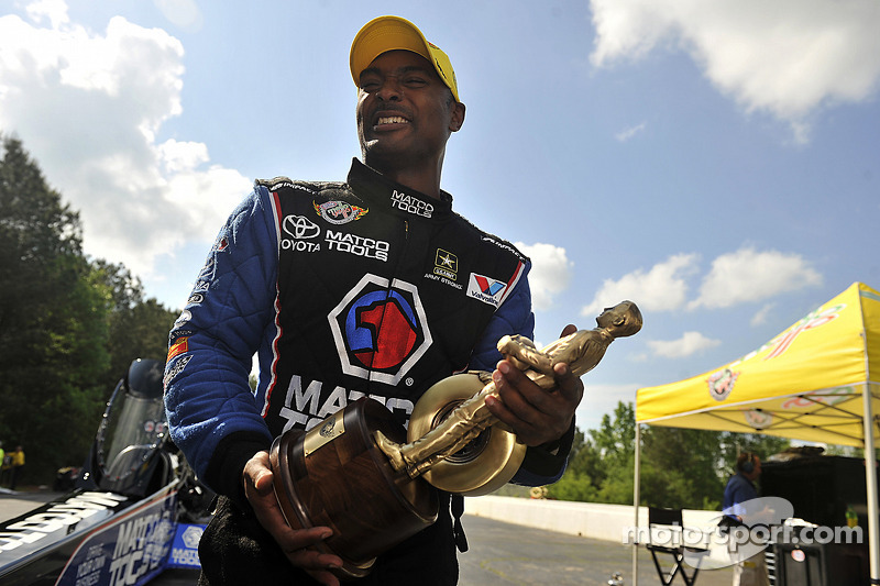 Brown ready to plow through Top Fuel competition in Phoenix