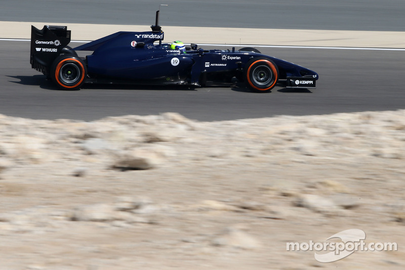 Williams happy with the overall progress on third day test at Bahrain