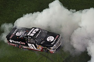 NASCAR Truck Race report Kyle Busch finally gets truck win at Daytona