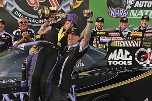 Alexis DeJoria's first Funny Car win