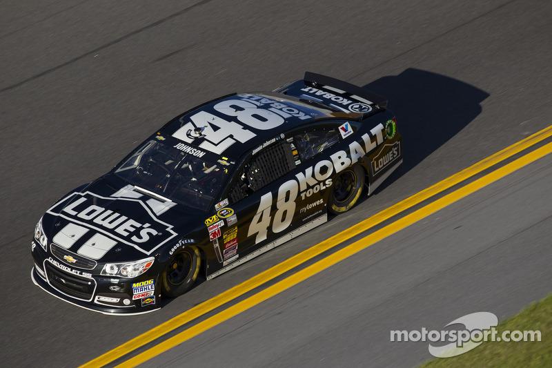 Johnson tells his memories of racing in Las Vegas