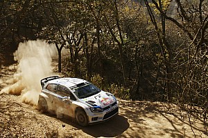Ogier leads at Rally Mexico