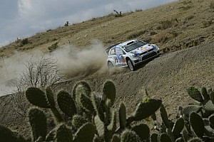 WRC Leg report Ogier stretches lead on second day of Rally Mexico
