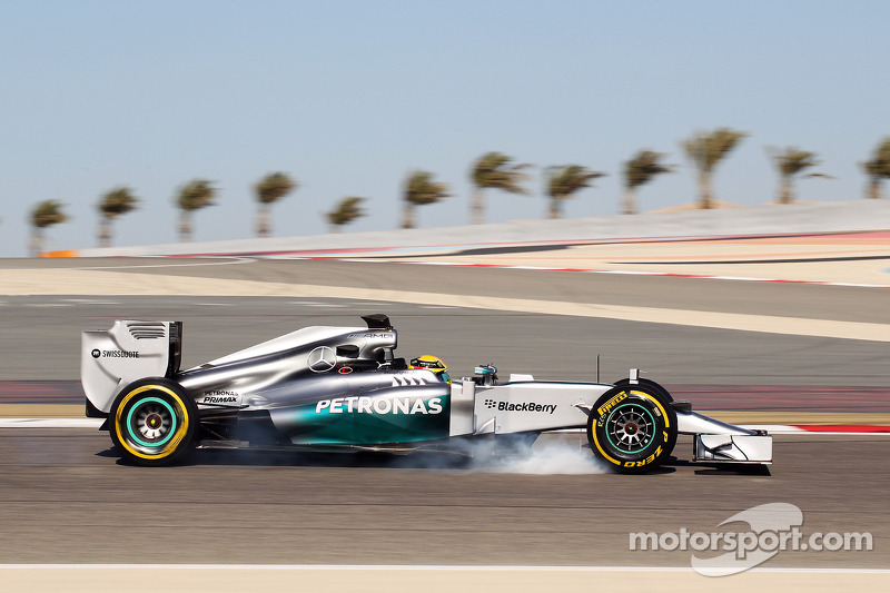 F1 technological challenge restarts with seven teams
