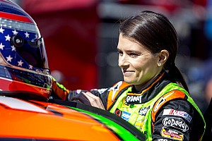 NASCAR Sprint Cup Race report Danica Patrick survives Bristol, finishes 18th