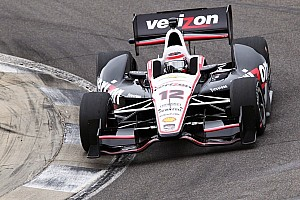 IndyCar Testing report Power paces final day of Barber test