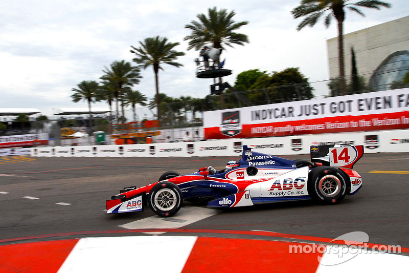 Sato heads Honda 1-2 as 2014 IndyCar Series opens in St. Petersburg