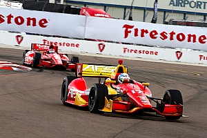 Sebastian Saavedra qualifies 11th for the Firestone Grand Prix of St. Petersburg