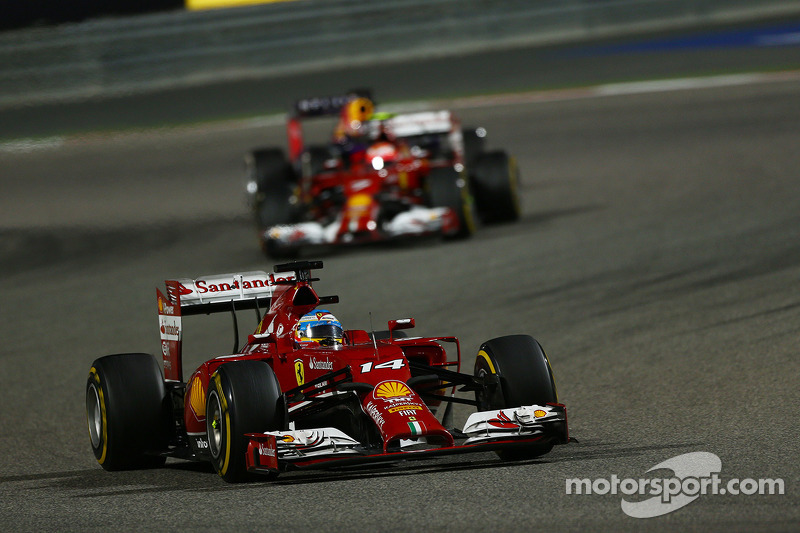 Montezemolo left track during Bahrain thriller