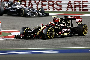 Formula 1 Testing report Lotus - 2014 Bahrain test day one
