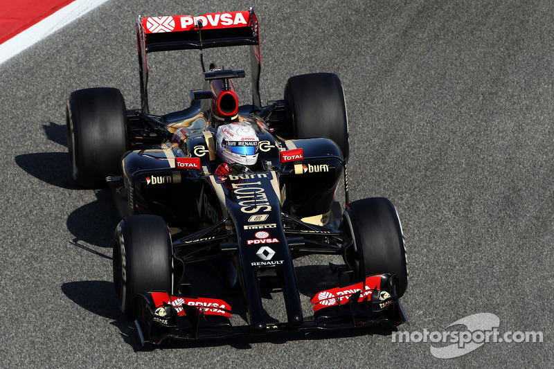 Bahrain testing day two - Lotus