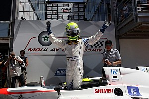 Auto GP Race report Marrakech, race-1: Kimiya Sato (Euronova) takes win in a crazy race