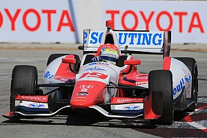 Justin Wilson looking to move forward in Grand Prix of Long Beach