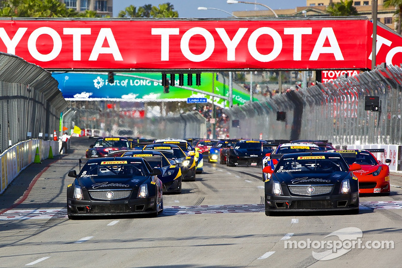 Team Cadillac wins at Long Beach