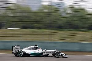 Hamilton tops FP2 in Shanghai