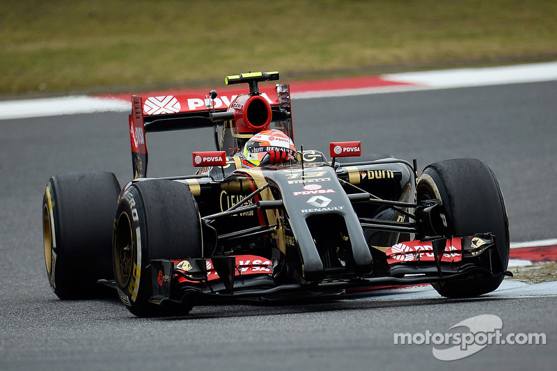 Lotus completed Friday's practice at China