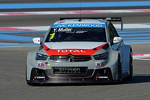 WTCC Race report Race 1 - Muller earns first win with Citroën