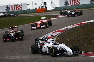 Bottas finished seventh and Massa 15th in the Chinese Grand Prix