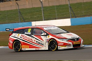 BTCC Race report Shedden steals race 3 win with thrilling last-lap pass on Turkington