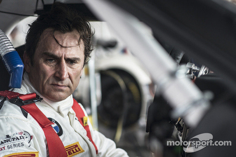 Eventful qualifying race for BMW works driver Alessandro Zanardi