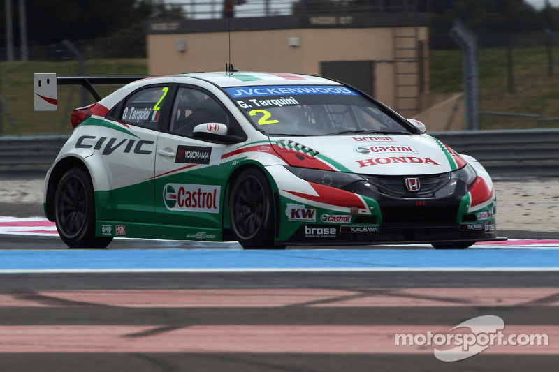 Honda cars set testing pace at the Hungaroring