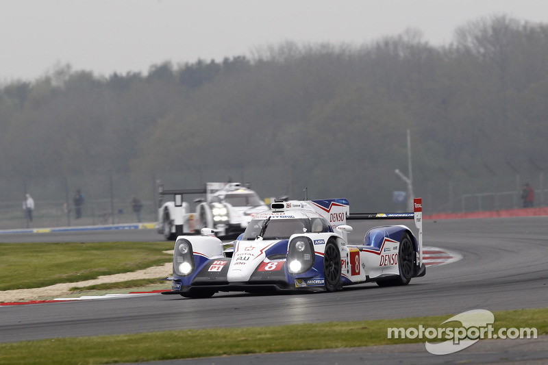 Toyota Racing on the front row in Spa