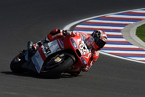 MotoGP Qualifying report Dovizioso qualifies on row 2 for tomorrow's Spanish GP, Crutchlow and Pirro further back on grid