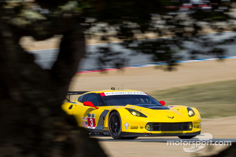 Corvette Racing at Laguna Seca: pole position for Garcia