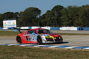 IMSA Qualifying report Flying Lizard Audi on class pole for TUDOR Championship race