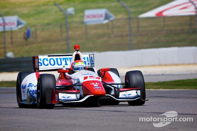 Justin Wilson looking forward to inaugural Grand Prix of Indianapolis