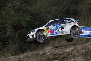 WRC Stage report Ogier leads Day 1 of Rally Argentina