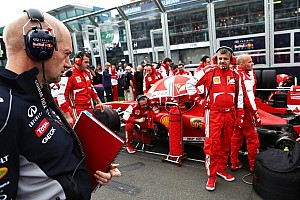 Adrian Newey, dreaming in red?