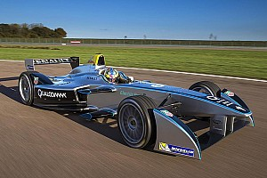 Formula E Breaking news Teams receive first delivery of Formula E race cars