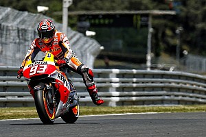 MotoGP Qualifying report Bridgestone: Another outright lap record lands Marquez on pole in Le Mans