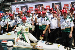Ed Carpenter wins secong straight Indy 500 Pole Sunday