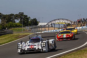 The Porsche 919 Hybrid arrives at the Sarthe, makes its mark
