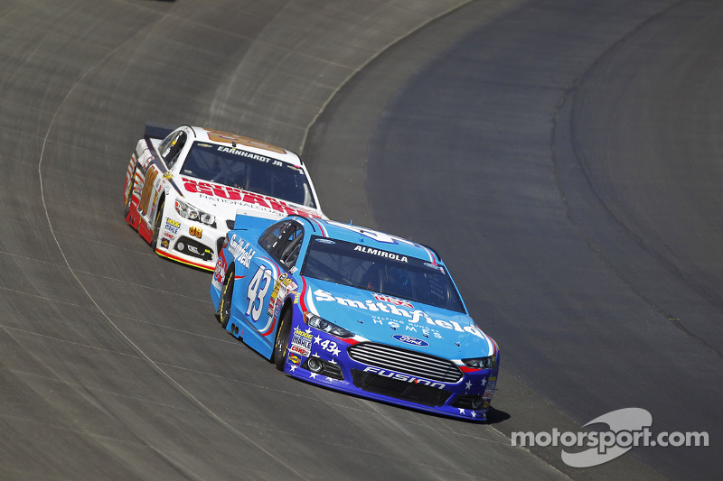 Almirola debuts Nathan's famous on no. 43 at Pocono