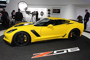 Just announced: Chevrolet rates the new Corvette Z06 at 650 horsepower