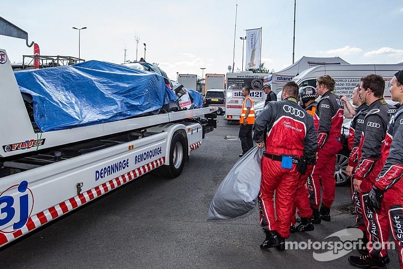 Loic Duval suffers horrifying crash during Le Mans practice