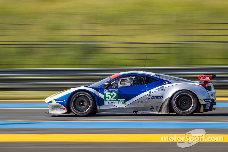Ram Racing Free practice and Qualifying 1 at 24 Hours of Le Mans