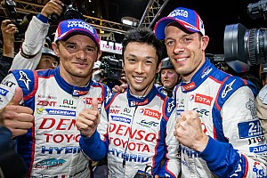 Le Mans Qualifying report Toyota's Kazuki Nakajima earns pole for 24 Hours of Le Mans