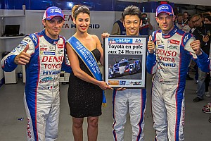 Le Mans Qualifying report Toyota Racing on pole at Le Mans