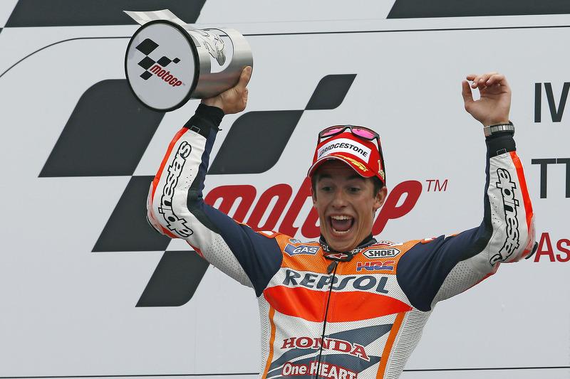 Maximum points for record breaking Marquez in Assen