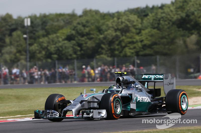 Rosberg quickest as British GP weekend gets underway